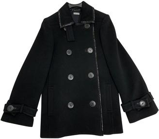 Anna Molinari Black Wool Jacket for Women