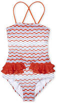 Missoni Girls 4-6x) Printed Knit One-Piece Swimsuit