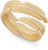 INC International Concepts Gold-Tone Leaf Bypass Ring, Only at Macy's