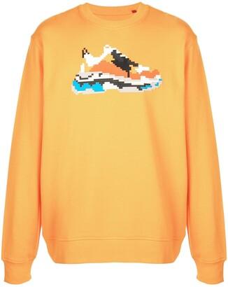 Mostly Heard Rarely Seen 8-Bit Vibrante Wave sweatshirt