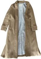 Maje Beige Wool Coats