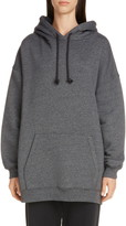 Acne Studios Fanita Logo Label Cotton Blend Hoodie
