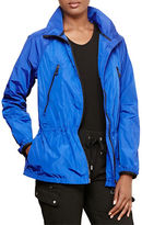 Lauren Ralph Lauren Drawcord Mockneck Jacket