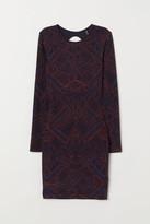 H&M Glittery Dress - Red