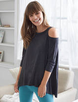 aerie Cold Shoulder Tunic Top