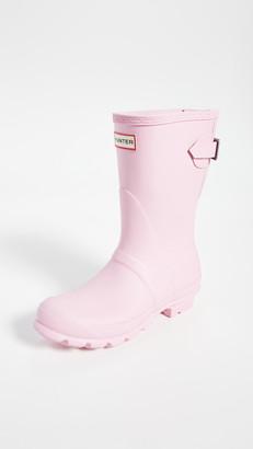 Hunter Original Back Adjustable Matte Short Boots