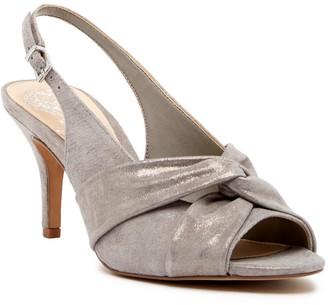Vince Camuto Piminae Knotted Slingback Leather Sandal