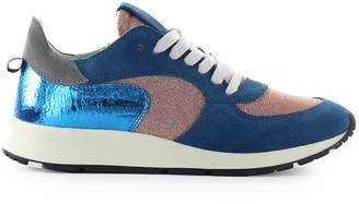 Philippe Model Montecarlo Glitter Mix Blue Lilac Sneaker