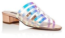 Sarah Jessica Parker Women's Court Strappy Slide Sandals