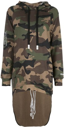 Haculla Pardon extended hoodie