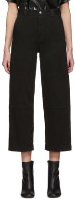 MM6 MAISON MARGIELA Black Flare Jeans