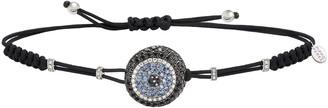 Pippo Perez 18k White Gold Diamond & Sapphire Fatima Eye Bracelet