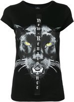 Marcelo Burlon County of Milan panther print T-shirt - women - Cotton - XS
