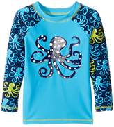 Hatley Deep Sea Octopus Rashguard (Toddler/Little Kids/Big Kids)
