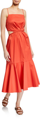 Johanna Ortiz Summer Luck Sleeveless Midi Dress