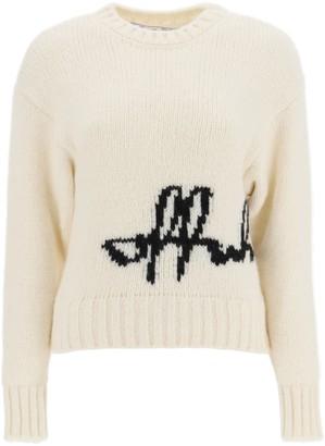 Off-White Logo Crewneck Sweater