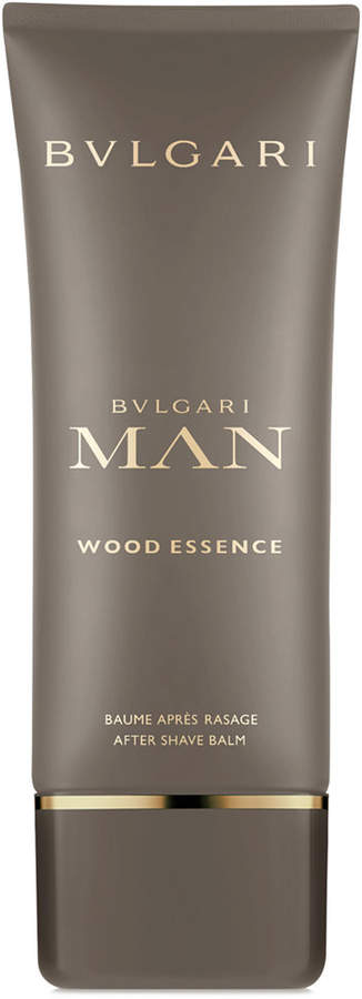 Bvlgari Men Man Wood Essence After Shave Balm, 3.4-oz.