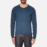 Universal Works Raglan Crew Neck Jumper Blue