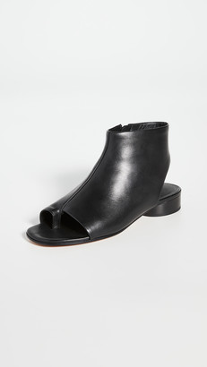 Vince Maro Open Toe Booties