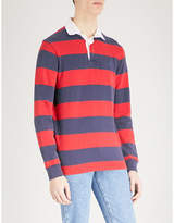 Polo Ralph Lauren Custom slim-fit cotton-jersey rugby polo shirt