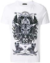 Frankie Morello space Egypt print T-shirt