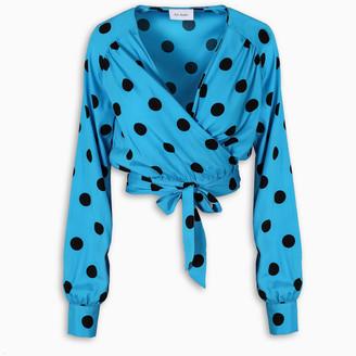 ART DEALER Polka dots cropped blouse