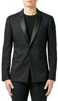 Topman Skinny Fit Tuxedo Jacket