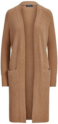 Polo Ralph Lauren Open-Front Ribbed Boyfriend Cardigan