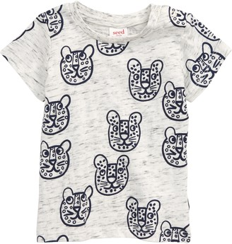 Seed Heritage Leopard Graphic Shirt