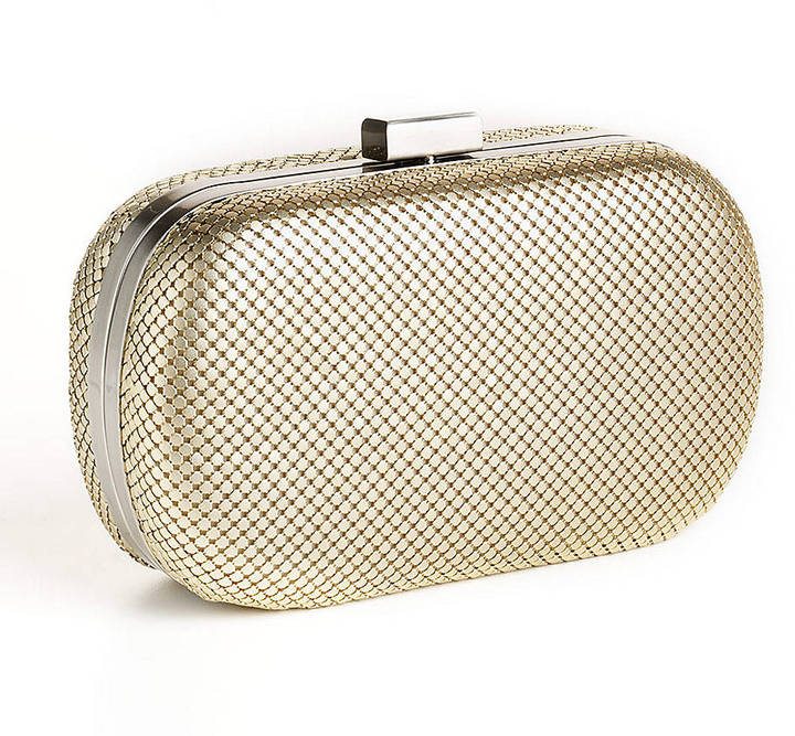 Whiting & Davis Minaudiere Clutch Handbag
