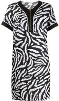 Escada Sport zebra-print shift dress