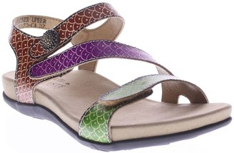 Spring Step L'Artiste by Leather Sport Sandals- Novato