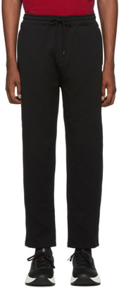Kenzo Black Tech Jacquard Lounge Pants