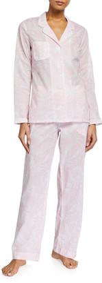 Derek Rose Ledbury 42 Printed Cotton Pajama Set