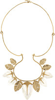 Aurelie Bidermann Talitha gold-plated mother-of-pearl necklace