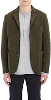 Barena Venezia Men's Brushed Three-Button Jacket