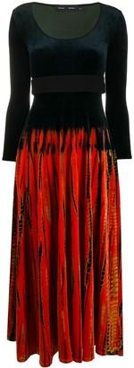 Proenza Schouler Tie-Dye Effect Dress