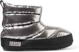 Marc by Marc Jacobs Macdougal metallic quilted shell ankle boots