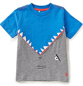 Joules Little Boys 3-6 Archie Shark Applique Short-Sleeve Top