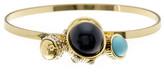 Jessica Simpson Stone & Crystal Detail Ball Cluster Charm Bracelet