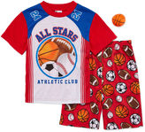 LICENSED PROPERTIES 2-Pc. All Stars Pajama Set with Toy - Boys 4-12