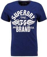 Superdry Print Tshirt Supermarine Navy Slub