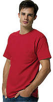 Hanes Tagless 6.1 Short Sleeve With Pocket (Set of 3) (Men's)