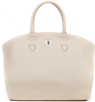 Coccinelle Angie Nude Leather Tote
