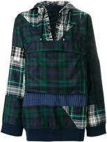 Puma tartan pull-over jacket