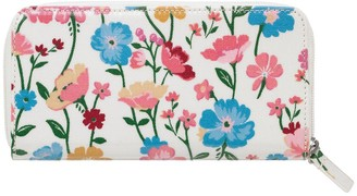 Cath Kidston Park Meadow Continental Zip Purse - Floral