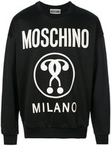 Moschino Question mark sweatshirt