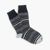 Corgi CorgiTM cashmere Fair Isle socks