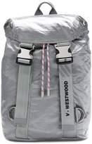 Vivienne Westwood metallic printed backpack
