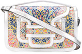 Pierre Hardy patterned shoulder bag - women - Leather - One Size